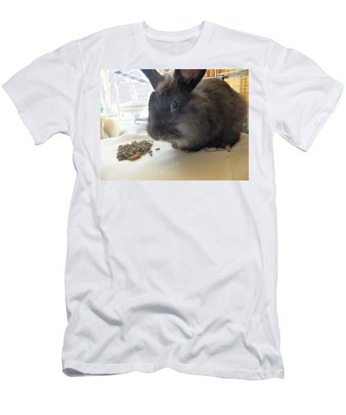 Men's T-Shirt (Athletic Fit) featuring the photograph Munchkin by Denise Fulmer