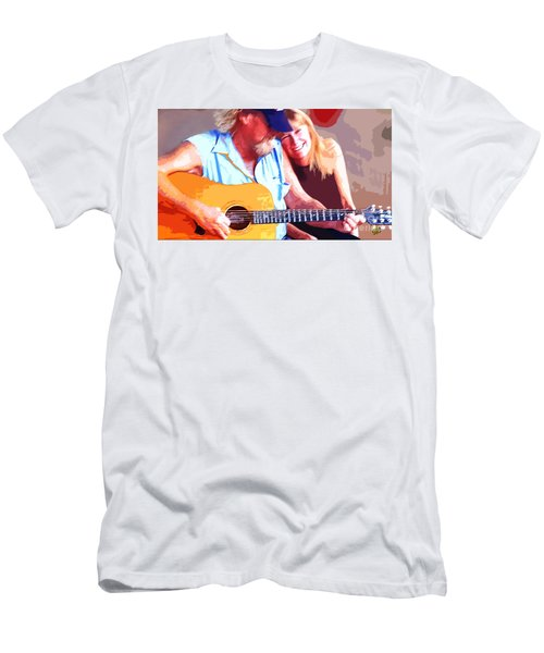 Music Lovers Men's T-Shirt (Athletic Fit)