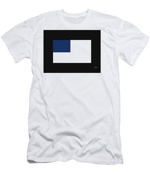 Men's T-Shirt (Slim Fit) featuring the digital art Music Notes 14 by David Bridburg