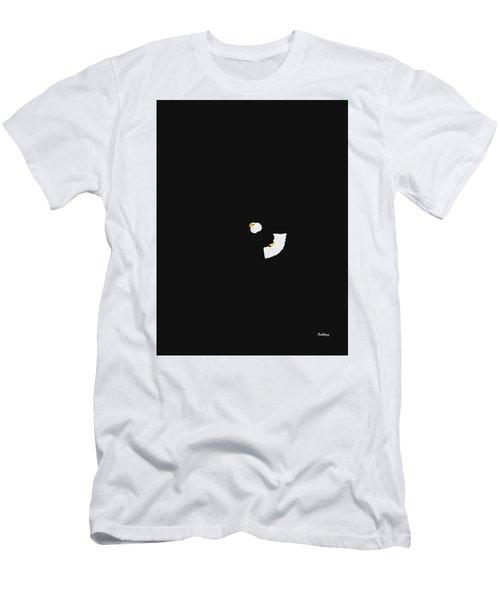 Men's T-Shirt (Slim Fit) featuring the digital art Music Notes 18 by David Bridburg