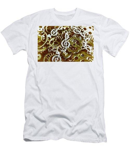 Music Production Men's T-Shirt (Athletic Fit)