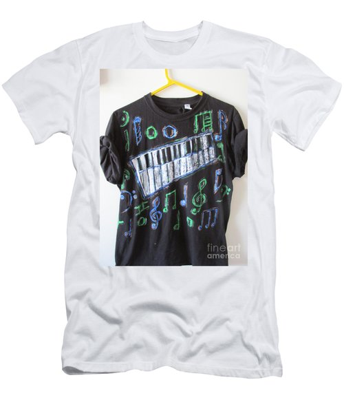 Musician Tee Shirt - Sierra Leone Men's T-Shirt (Athletic Fit)
