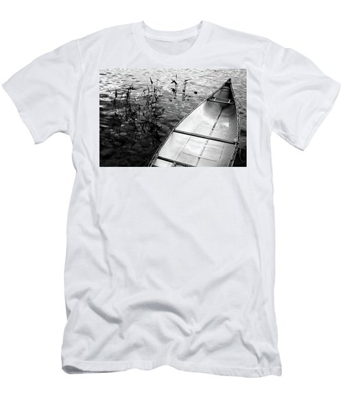Men's T-Shirt (Athletic Fit) featuring the photograph Muskoka Canoe by Jim Vance