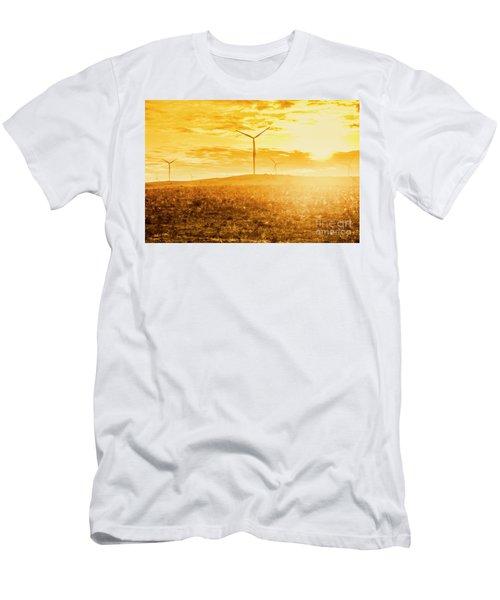 Musselroe Wind Farm Men's T-Shirt (Athletic Fit)