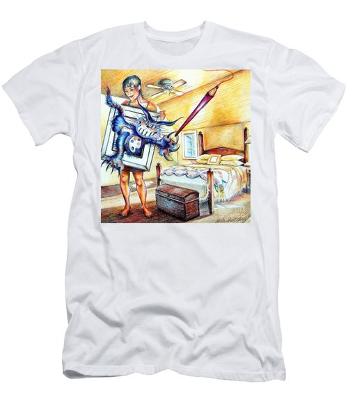 My Art Thing Men's T-Shirt (Athletic Fit)