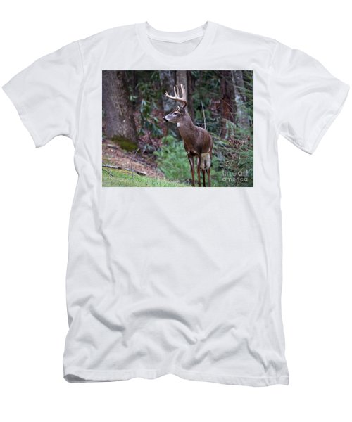 Men's T-Shirt (Slim Fit) featuring the photograph My Best Side by Douglas Stucky