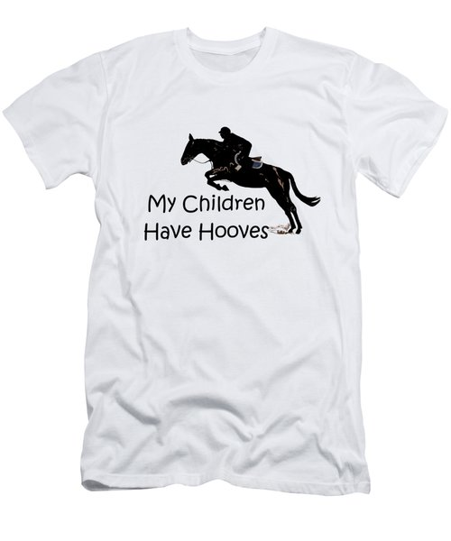My Children Have Hooves Men's T-Shirt (Slim Fit) by Patricia Barmatz