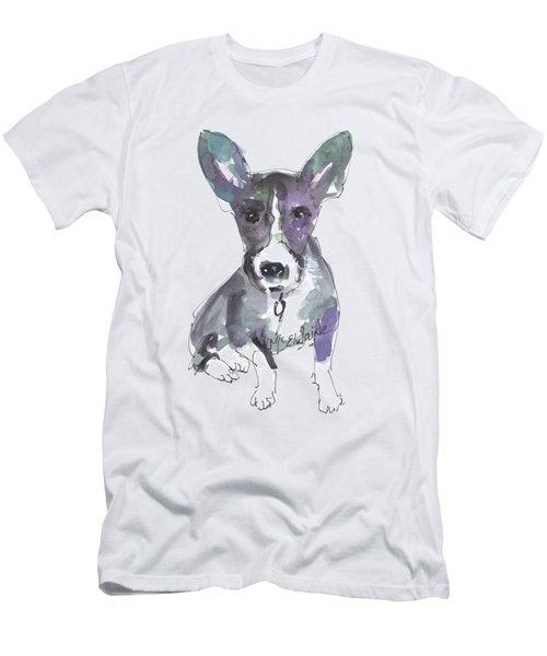 My Dog Ultra Violet Men's T-Shirt (Athletic Fit)