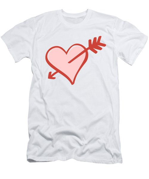 My Heart Men's T-Shirt (Athletic Fit)
