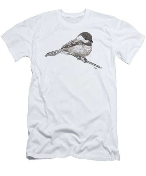 My Little Chickadee-dee-dee Men's T-Shirt (Slim Fit) by Mary-Ellen Arsenault