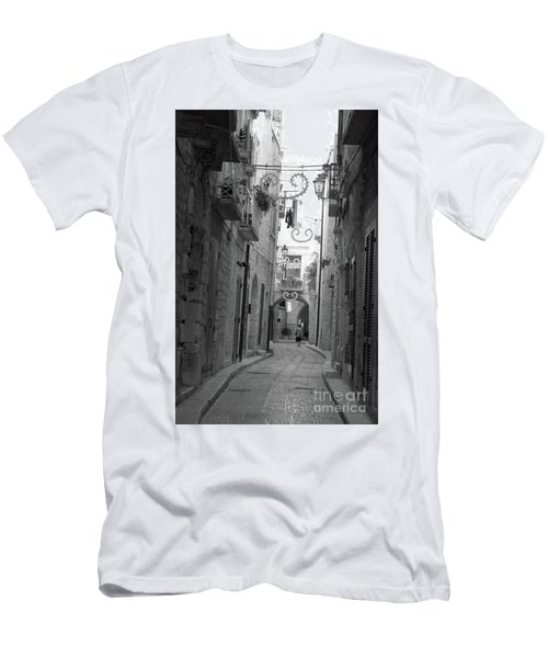 Men's T-Shirt (Athletic Fit) featuring the photograph My Old Town by Frank Stallone