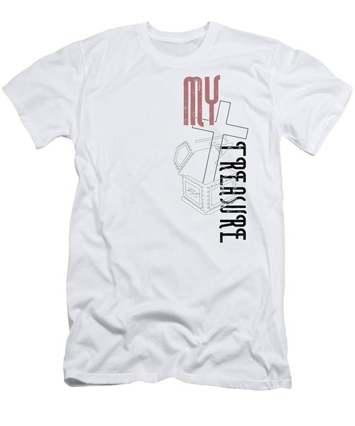 My Treasure Men's T-Shirt (Athletic Fit)