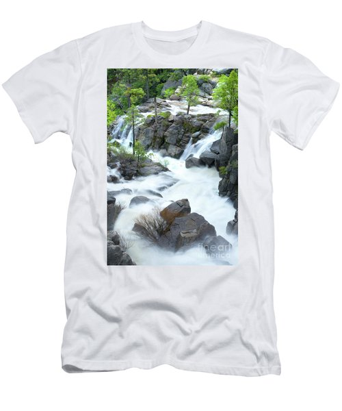 Mysterious Falls In Yosemite Men's T-Shirt (Athletic Fit)