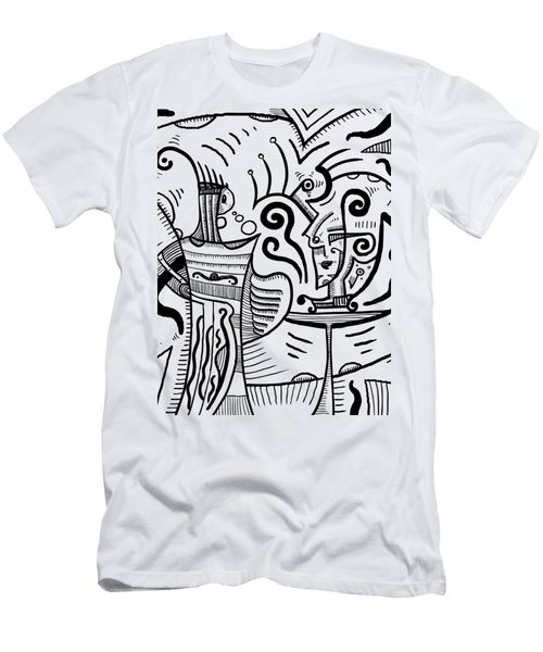 Mystical Powers - Surrealism Men's T-Shirt (Athletic Fit)