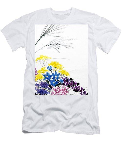 Nanakusa/ Autumn Seven Sisters Men's T-Shirt (Athletic Fit)