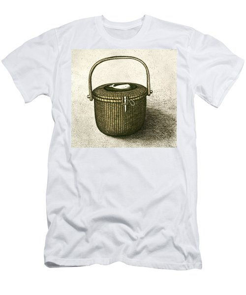 Nantucket Basket Men's T-Shirt (Athletic Fit)