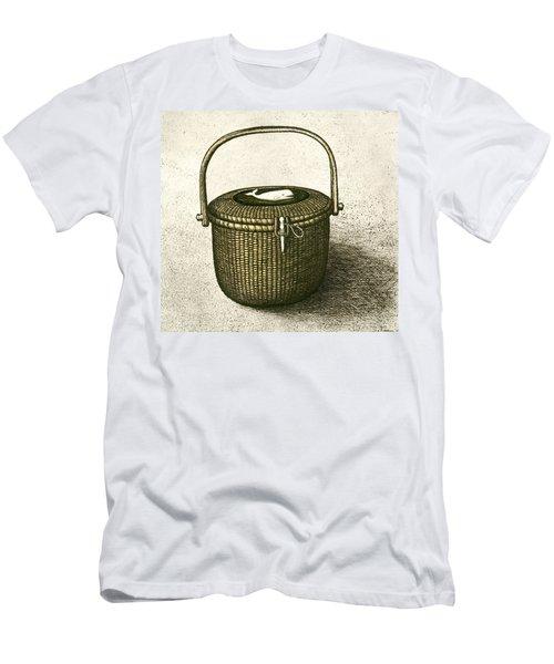 Nantucket Basket Men's T-Shirt (Athletic Fit)