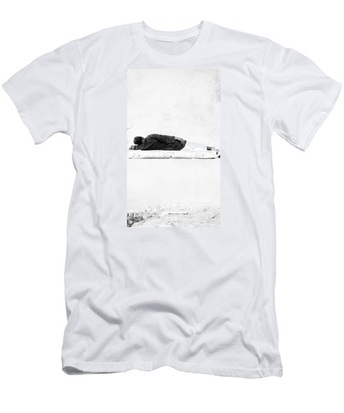 Men's T-Shirt (Slim Fit) featuring the photograph Napha by Jez C Self