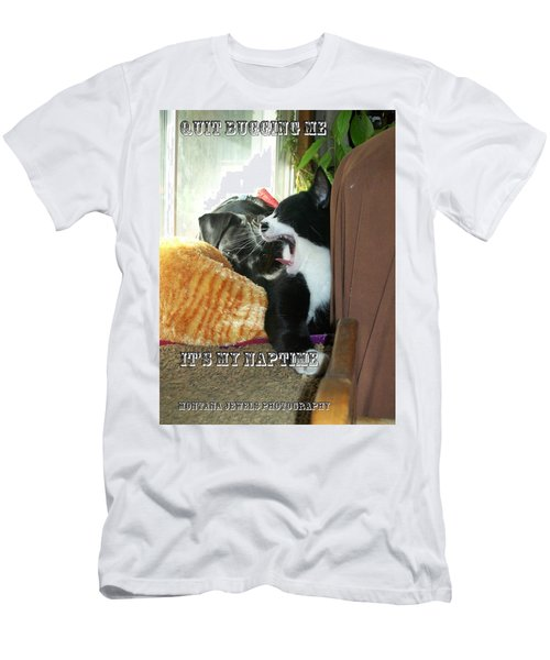 Men's T-Shirt (Slim Fit) featuring the photograph Naptime by Jewel Hengen