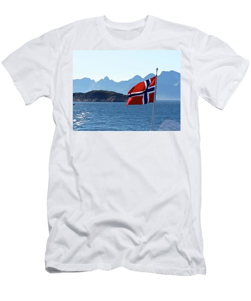 National Day Of Norway In May Men's T-Shirt (Slim Fit) by Tamara Sushko