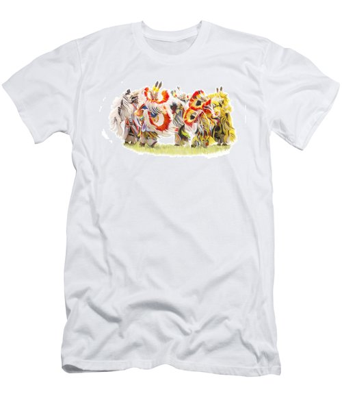 Native Color In Motion Men's T-Shirt (Athletic Fit)