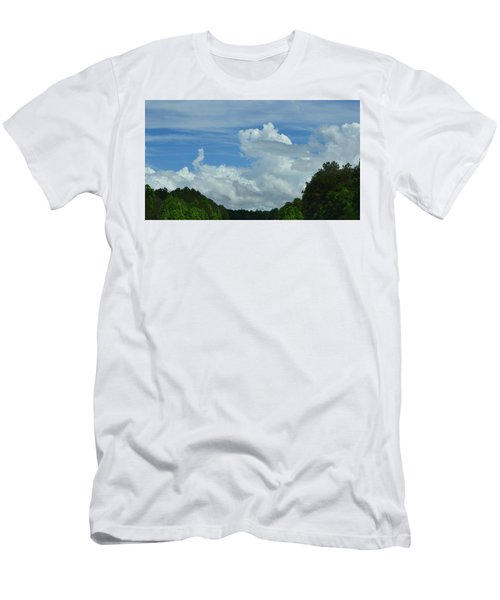 Natural Clouds Men's T-Shirt (Athletic Fit)