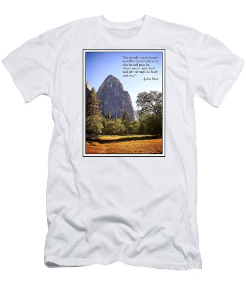 Natures Cathedral Men's T-Shirt (Slim Fit) by Glenn McCarthy Art and Photography