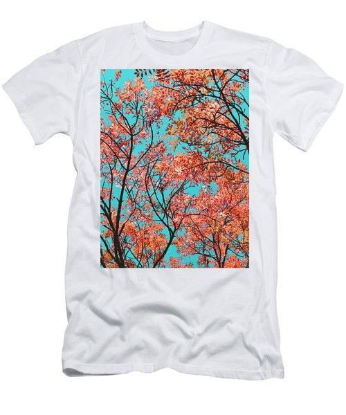 Natures Magic - Orange Men's T-Shirt (Athletic Fit)