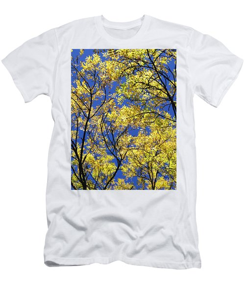 Men's T-Shirt (Slim Fit) featuring the photograph Natures Magic - Original by Rebecca Harman