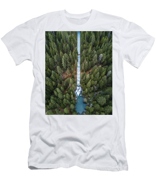 Natures Waterslide  Men's T-Shirt (Athletic Fit)