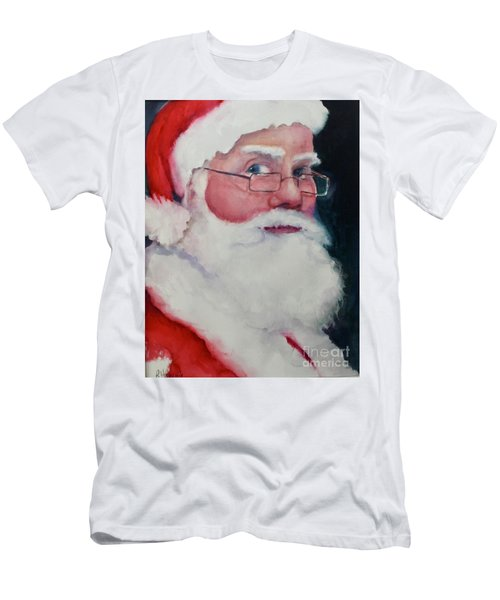 Naughty Or Nice ? Santa 2016 Men's T-Shirt (Athletic Fit)