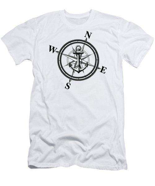 Nautica Bw Men's T-Shirt (Athletic Fit)