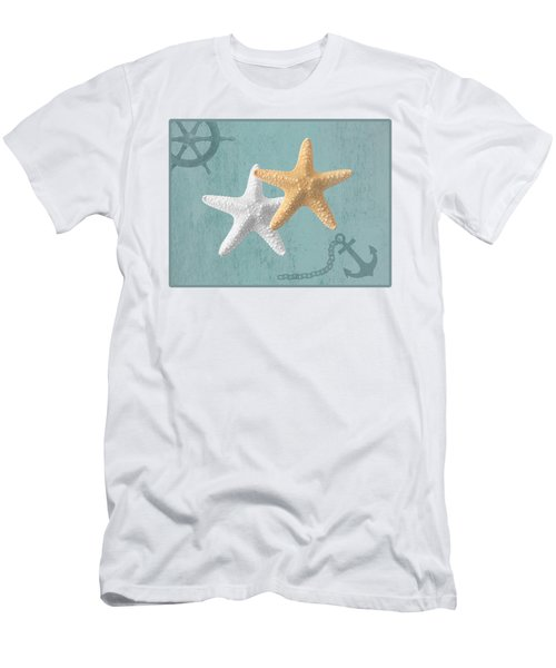 Nautical Stars Men's T-Shirt (Athletic Fit)