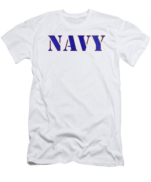 Navy Men's T-Shirt (Slim Fit) by George Robinson
