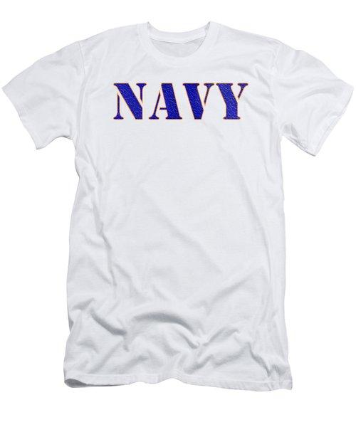 Navy Men's T-Shirt (Athletic Fit)