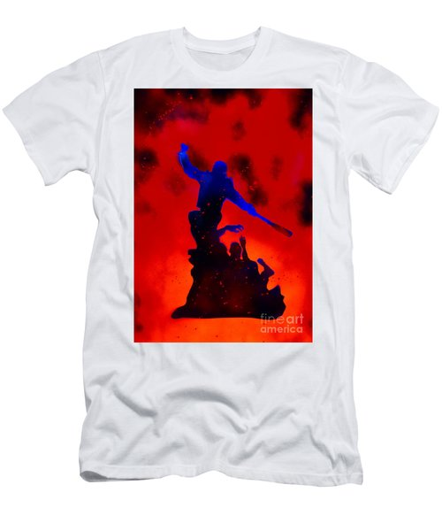 Negan Triumph  Men's T-Shirt (Slim Fit) by Justin Moore