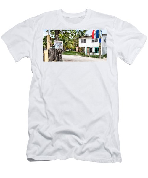 Neglected In Paradise Men's T-Shirt (Athletic Fit)