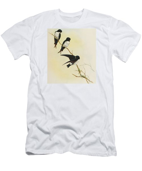 Nepal House Martin Men's T-Shirt (Athletic Fit)