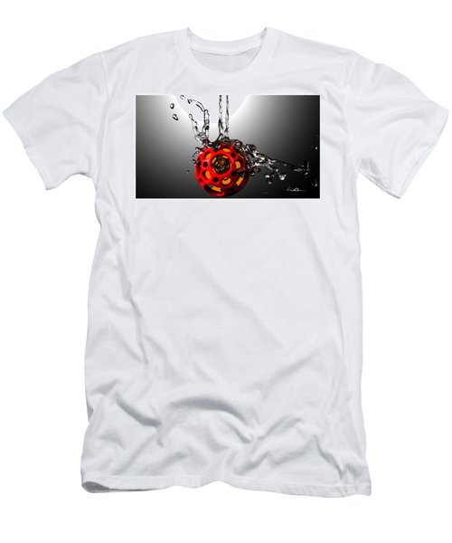 Nested Dodecahedron 001 Men's T-Shirt (Athletic Fit)