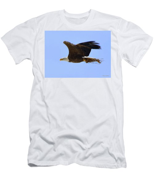 Nesting Eagle Men's T-Shirt (Athletic Fit)