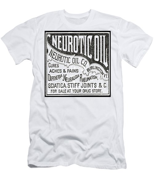 Neurotic Vintage Ad Men's T-Shirt (Athletic Fit)
