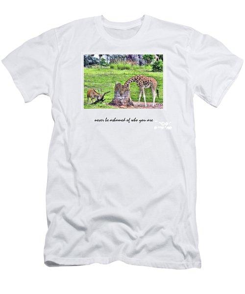 Never Be Ashamed Men's T-Shirt (Athletic Fit)