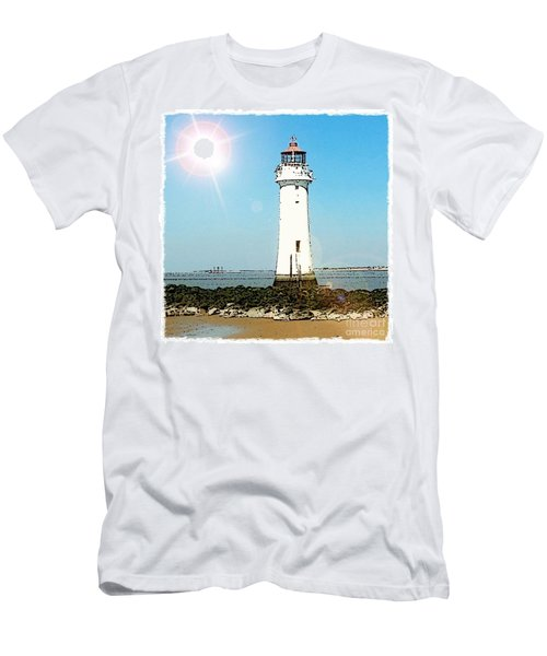 New Brighton Lighthouse Men's T-Shirt (Athletic Fit)