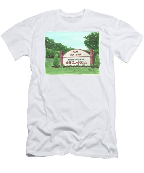 New River Welcome Men's T-Shirt (Athletic Fit)