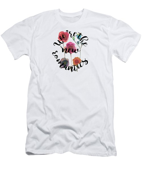 New Romantics Men's T-Shirt (Slim Fit) by Patricia Abreu