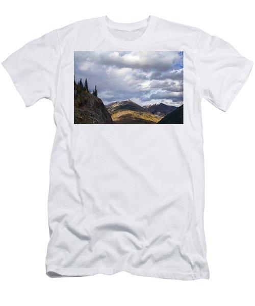 Peeking At The Peaks Men's T-Shirt (Athletic Fit)