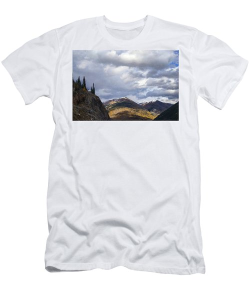 Peeking At The Peaks Men's T-Shirt (Athletic Fit)