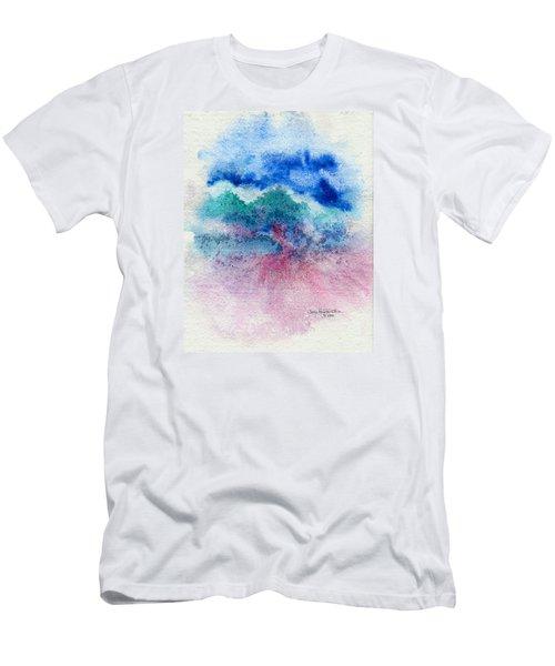 New Wave Men's T-Shirt (Slim Fit) by Joan Hartenstein