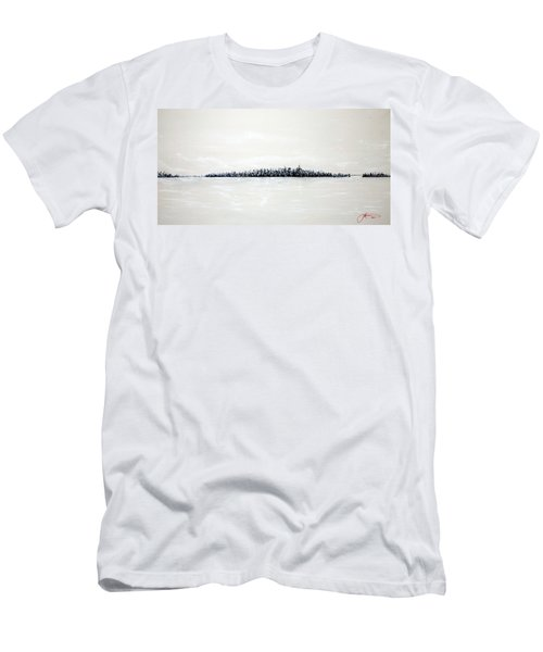 New York City Skyline 48 Men's T-Shirt (Athletic Fit)