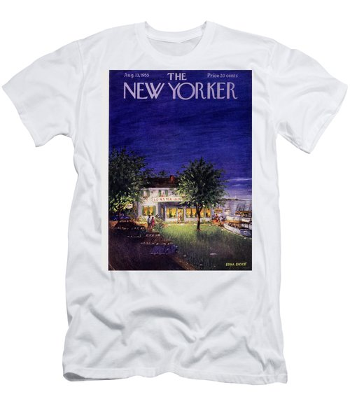 New Yorker August 13 1955 Men's T-Shirt (Athletic Fit)